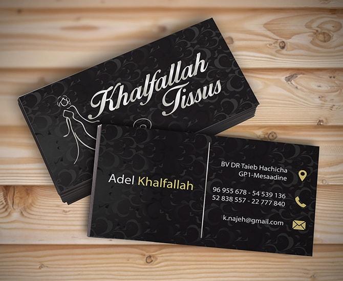 Carte visite khalfalah