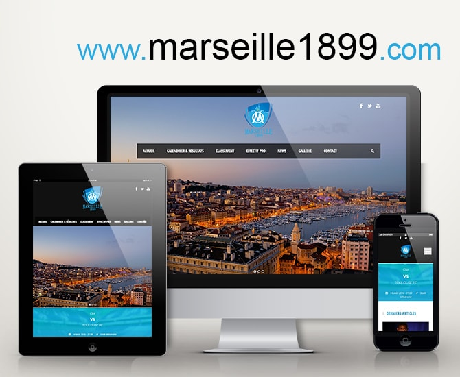 Site Web marseille 1899