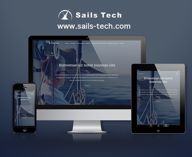 Site Web Sails Tech