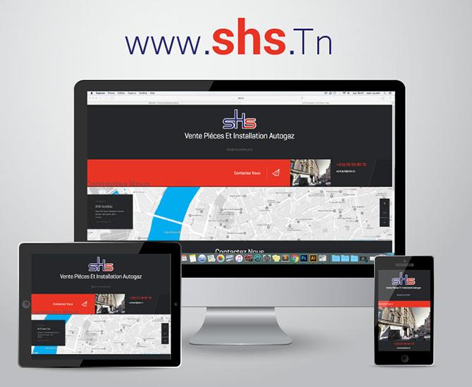 Site Web SHS Autogaz