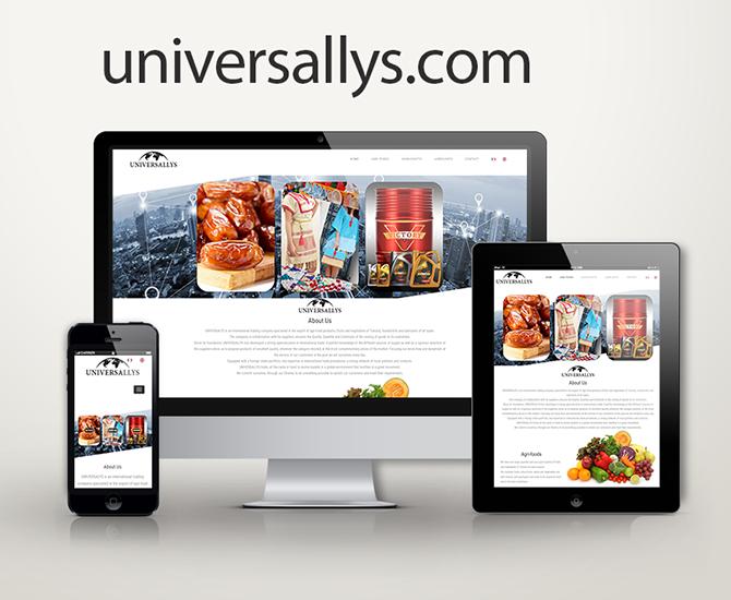 Site Web Universallys