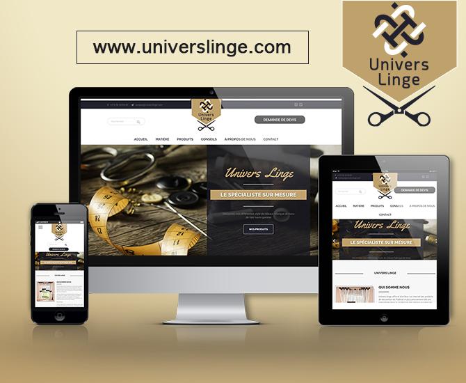 Site Web Universlinge