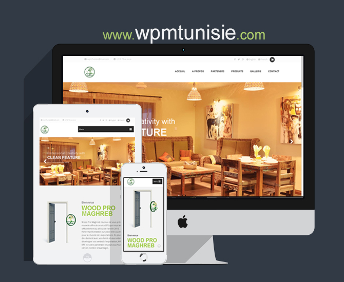 Site Web WPM Tunisie